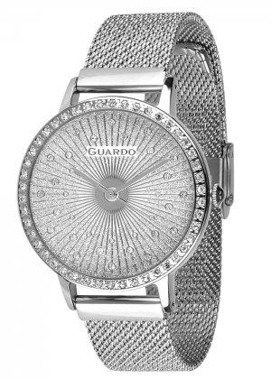 Zegarek Guardo 011626-2 NA BRANSOLECIE MESH. Kolekcja Damska