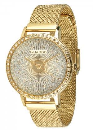 Zegarek Guardo 011626-3 NA BRANSOLECIE MESH. Kolekcja Damska