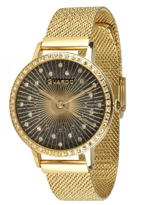 Zegarek Guardo 011626-5 NA BRANSOLECIE MESH. Kolekcja Damska