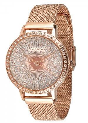 Zegarek Guardo 011626-6 NA BRANSOLECIE MESH. Kolekcja Damska
