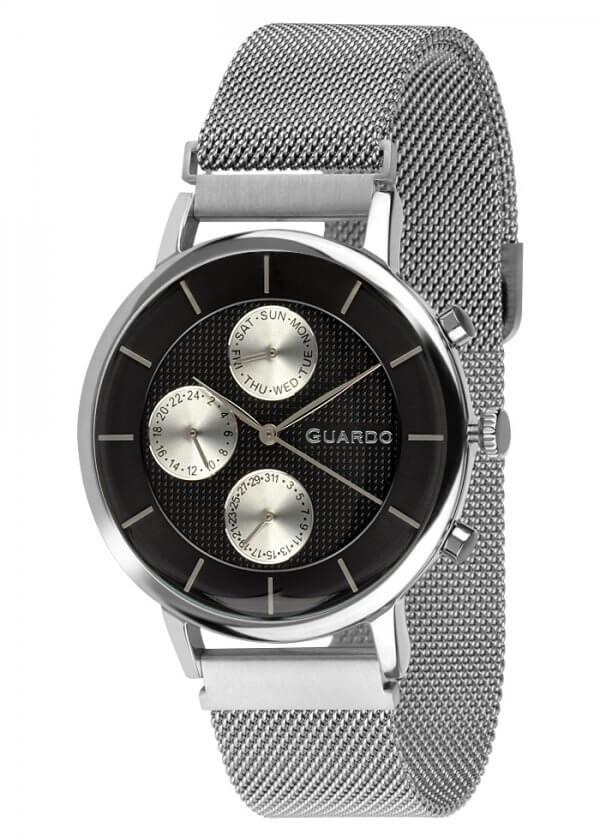 Zegarek Guardo 012015-1 NA BRANSOLECIE MESH. Kolekcja Męska