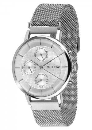 Zegarek Guardo 012015-2 NA BRANSOLECIE MESH. Kolekcja Męska