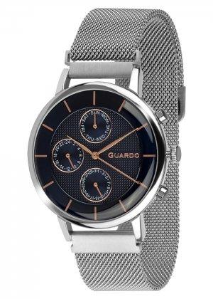Zegarek Guardo 012015-3 NA BRANSOLECIE MESH. Kolekcja Męska