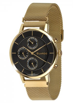 Zegarek Guardo 012015-4 NA BRANSOLECIE MESH. Kolekcja Męska