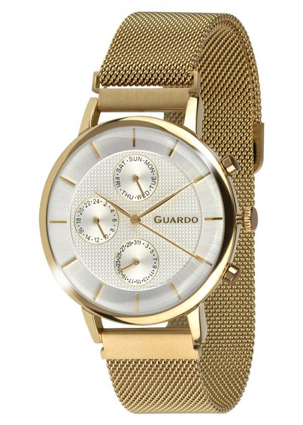 Zegarek Guardo 012015-5 NA BRANSOLECIE MESH. Kolekcja Męska