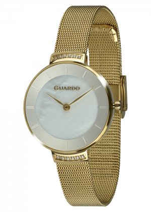 Zegarek Guardo 012439-4 NA BRANSOLECIE MESH. Kolekcja Damska