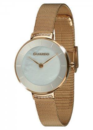 Zegarek Guardo 012439-5 NA BRANSOLECIE MESH. Kolekcja Damska