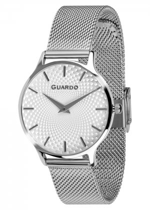 Zegarek Guardo 012516-2 NA BRANSOLECIE MESH. Kolekcja Damska