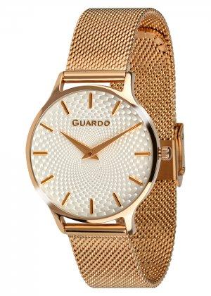 Zegarek Guardo 012516-6 NA BRANSOLECIE MESH. Kolekcja Damska