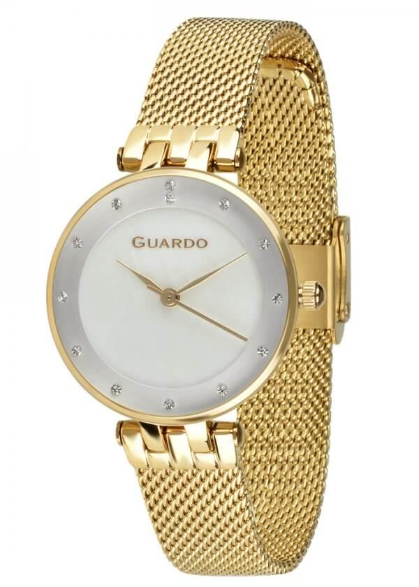 Zegarek Guardo B01206-4 NA BRANSOLECIE MESH. Kolekcja Damska