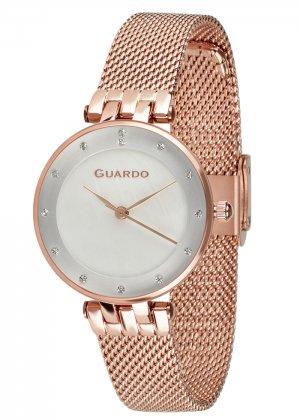Zegarek Guardo B01206-5 NA BRANSOLECIE MESH. Kolekcja Damska