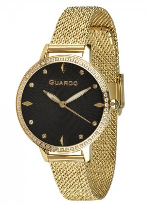 Zegarek Guardo B01340(2)-3 NA BRANSOLECIE MESH. Kolekcja Damska