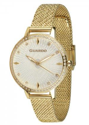 Zegarek Guardo B01340(2)-4 NA BRANSOLECIE MESH. Kolekcja Damska