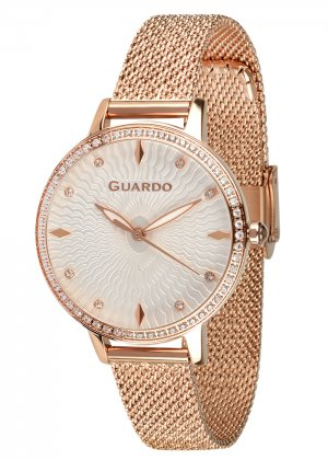 Zegarek Guardo B01340(2)-5 NA BRANSOLECIE MESH. Kolekcja Damska