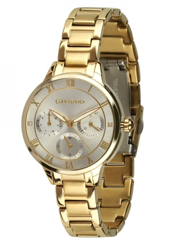 Zegarek Guardo B01395-4 NA BRANSOLECIE. Kolekcja Damska