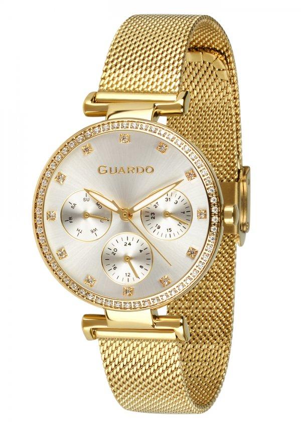 Zegarek Guardo B01652-3 NA BRANSOLECIE MESH. Kolekcja Damska
