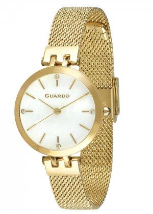 Zegarek Guardo B01947-4 NA BRANSOLECIE MESH. Kolekcja Damska