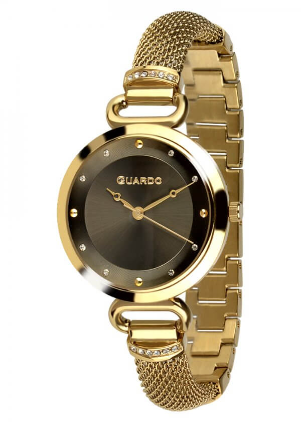 Zegarek Guardo T01059-3 NA BRANSOLECIE MESH. Kolekcja Damska