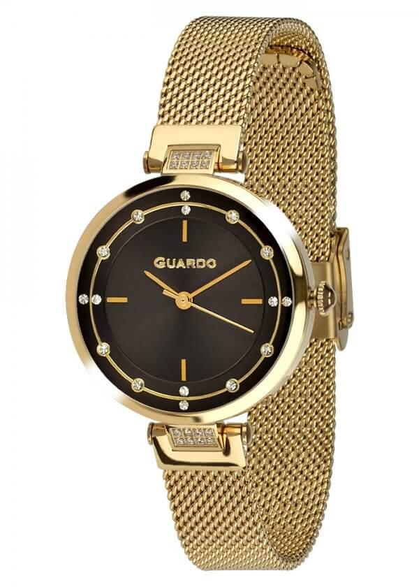Zegarek Guardo T01061(1)-2 NA BRANSOLECIE MESH. Kolekcja Damska