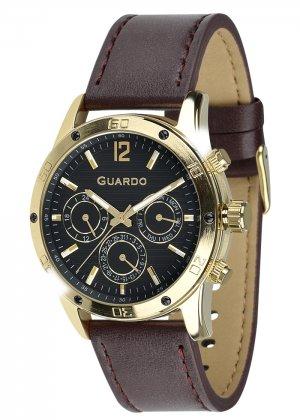 Zegarek Męski Guardo Premium 011168-3 na pasku