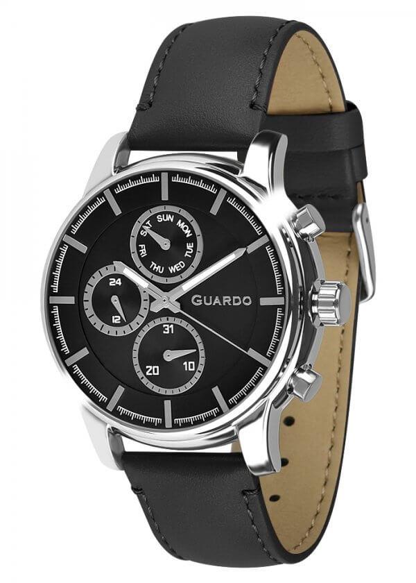 Zegarek Męski Guardo Premium 011420-1 na pasku