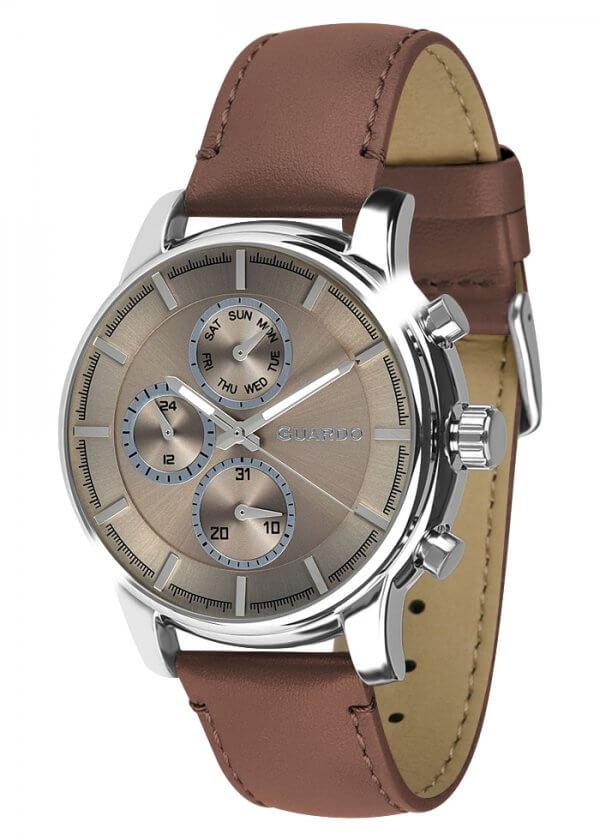 Zegarek Męski Guardo Premium 011420-2 na pasku