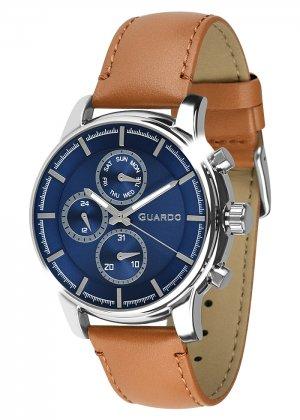 Zegarek Męski Guardo Premium 011420-3 na pasku