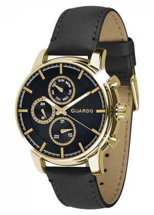 Zegarek Męski Guardo Premium 011420-5 na pasku