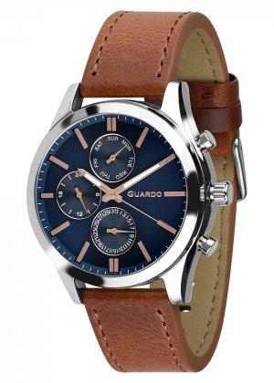 Zegarek Męski Guardo Premium 011648-3 na pasku