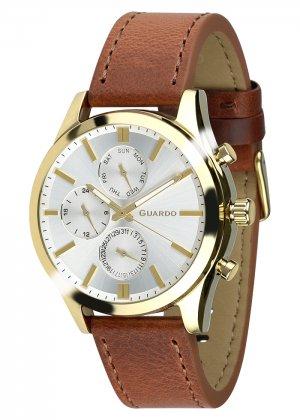 Zegarek Męski Guardo Premium 011648-5 na pasku