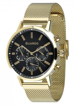Zegarek Męski Guardo Premium 012077-4 na bransolecie mesh