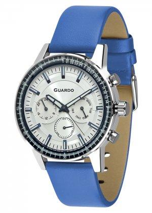 Zegarek Męski Guardo Premium 012287-3 na pasku
