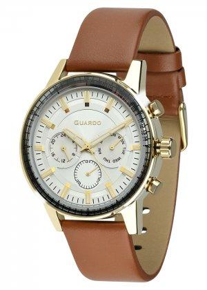 Zegarek Męski Guardo Premium 012287-5 na pasku