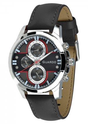 Zegarek Męski Guardo Premium 012313-1 na pasku