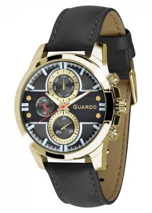 Zegarek Męski Guardo Premium 012313-3 na pasku