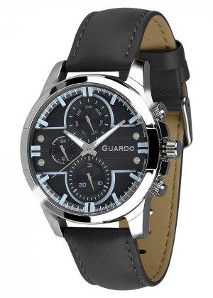 Zegarek Męski Guardo Premium 012313-4 na pasku