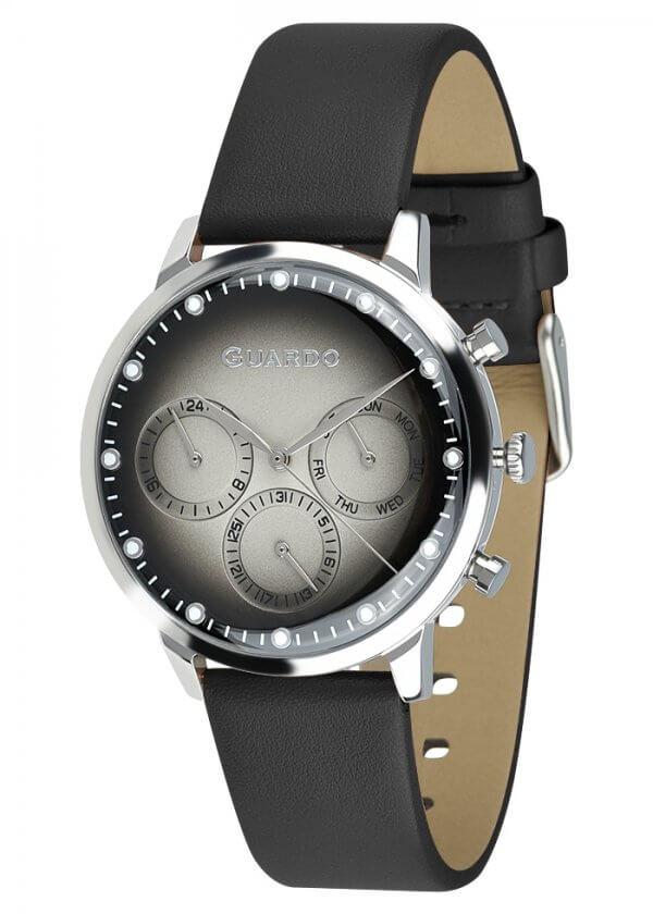 Zegarek Męski Guardo Premium 012430-2 na pasku