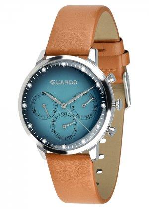 Zegarek Męski Guardo Premium 012430-3 na pasku