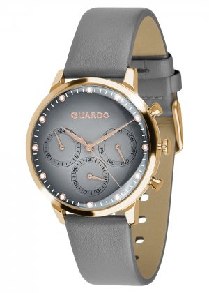 Zegarek Męski Guardo Premium 012430-4 na pasku