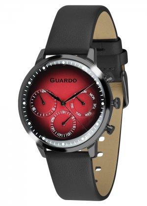 Zegarek Męski Guardo Premium 012430-5 na pasku