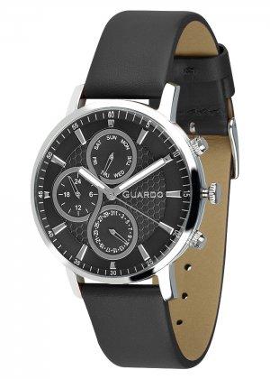 Zegarek Męski Guardo Premium 012433-1 na pasku