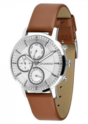 Zegarek Męski Guardo Premium 012433-2 na pasku