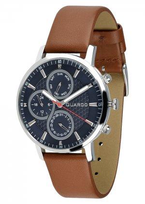 Zegarek Męski Guardo Premium 012433-3 na pasku