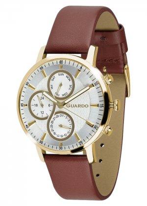 Zegarek Męski Guardo Premium 012433-4 na pasku
