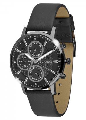 Zegarek Męski Guardo Premium 012433-5 na pasku