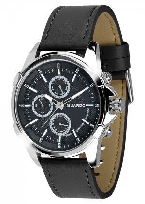 Zegarek Męski Guardo Premium 012469-1 na pasku