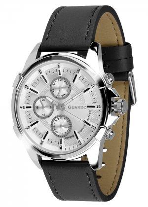 Zegarek Męski Guardo Premium 012469-2 na pasku
