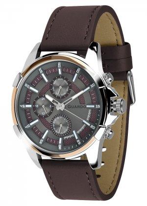 Zegarek Męski Guardo Premium 012469-3 na pasku