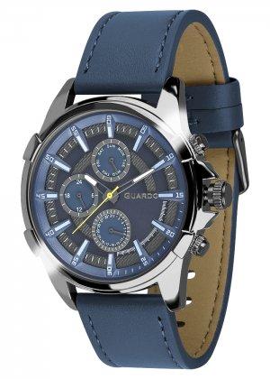 Zegarek Męski Guardo Premium 012469-5 na pasku