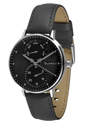 Zegarek Męski Guardo Premium 012522-1 na pasku